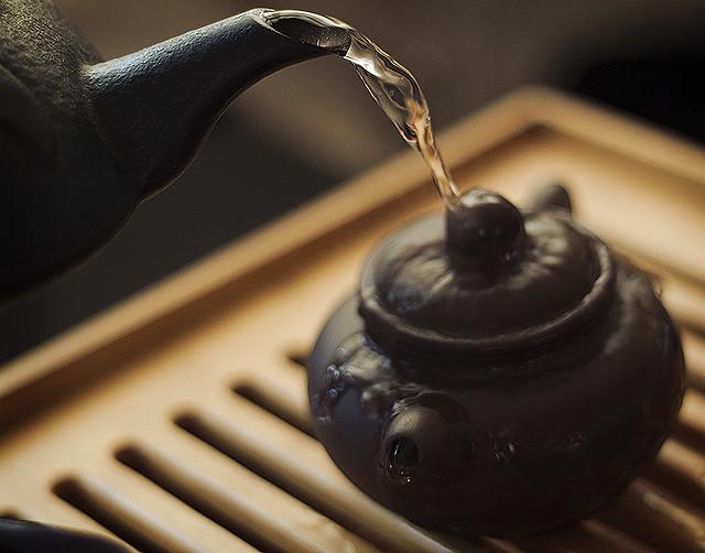 teapot bath.