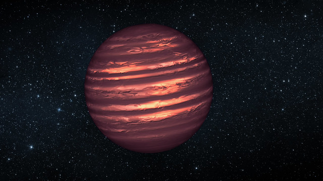 NASA Space Telescopes See Weather Patterns in Brown Dwarf