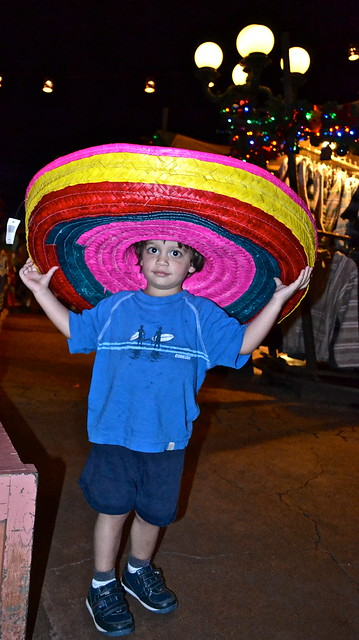 epcot center - sombrero fun