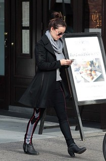 Olivia Wilde Ankle Boots Celebrity Style Women's Fashion