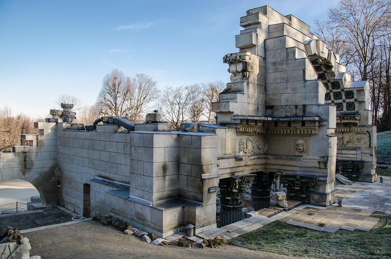 Römische Ruine, Schönbrunn Palace