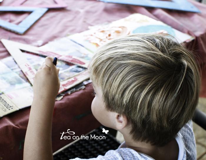 Guirnalda de cartón cumpleaños original birthday garland 02
