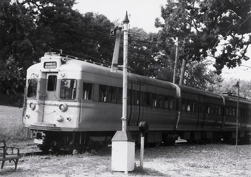 The Fox River Trolley Museum.  South Elgin Illinois.  Early September 1990. by Eddie from Chicago
