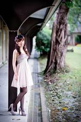 [フリー画像素材] 人物, 女性 - アジア, ワンピース・ドレス ID:201302261800