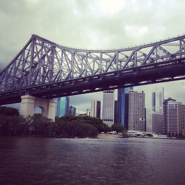 Brisbane Story Bridge, by the same Architect of the Sydney Bridge