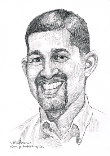 guy portrait in pencil 04072012