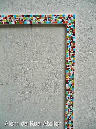 Moldura de mosaico