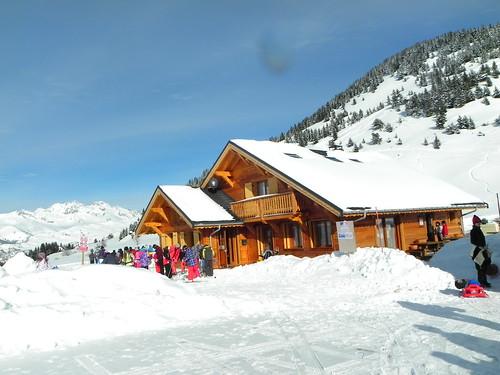 Chalet refuge au Col de Chaussy
