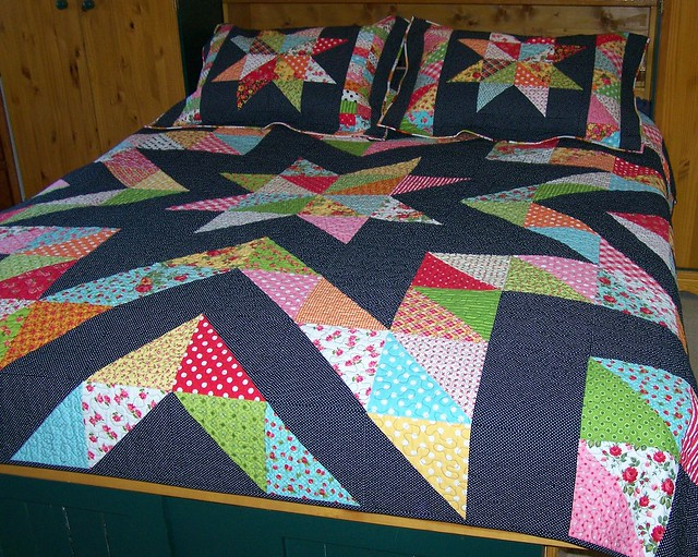 Mrs.Star Queen Sized Quilt
