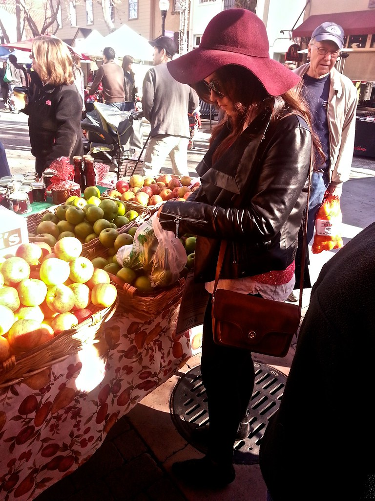 SF Bay Area Fashion and Lifestyle Blog - Sunnyvale Farmer's Market
