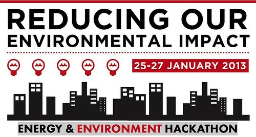 ENERGY & ENVIRONMENT HACKATHON 2013