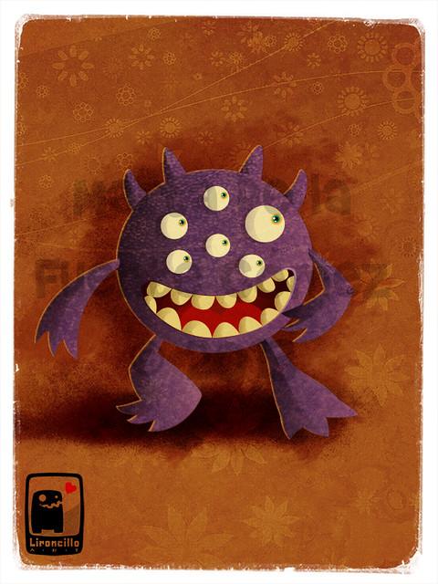 Monstruo multiojo