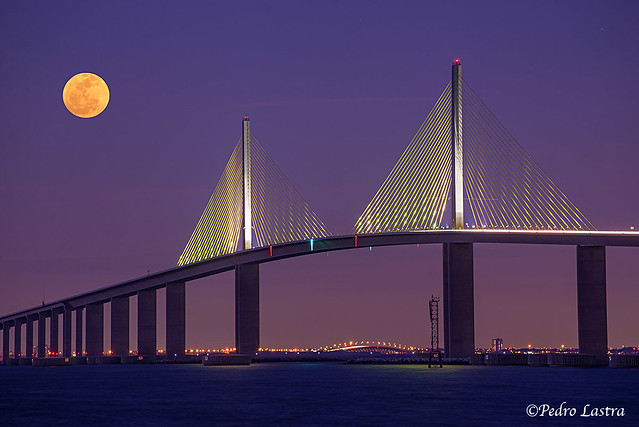 Skyway Bridge St Petersburg Florida Flickr Photo