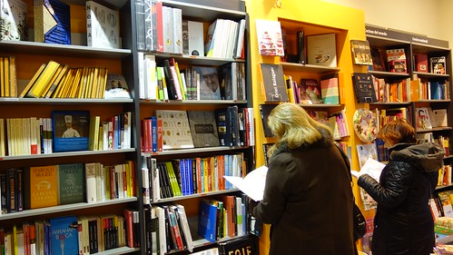 A punto libreria