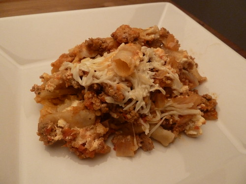 Slow Cooker Turkey Ziti