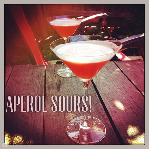 And aperol sours done!