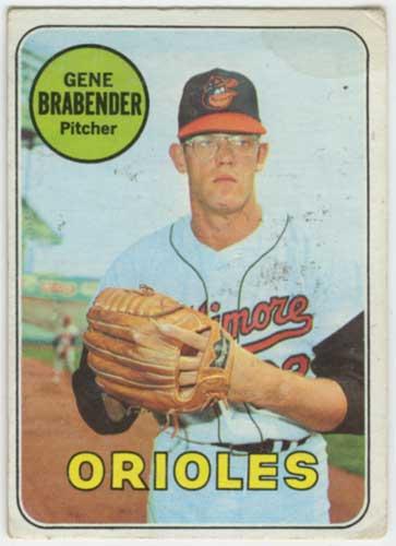 1969 Topps Gene Brabender