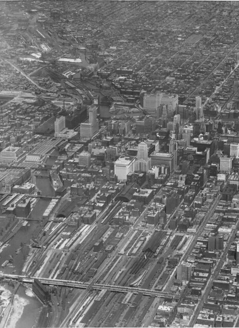 Downtown Chicago from Above (1930) | Flickr - Photo Sharing!