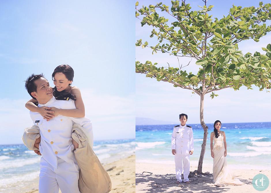 Jayson and Meriel Post Wedding, Sumilon Island Cebu Weddings