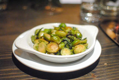 Roasted Brussels Sprouts Brown Butter, Sage and Capers