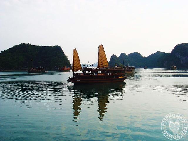Halong Bay Junk Boats