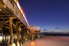 Night HDR of the Cocoa Beach Pier