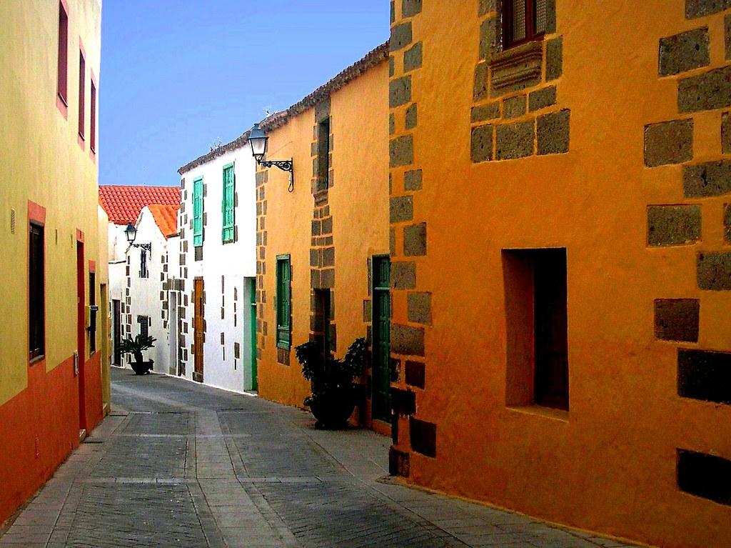 Gran Canaria , In Agüimes unterwegs , 3-7/1934