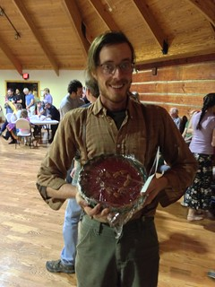 Madison County pie auction and contra dance