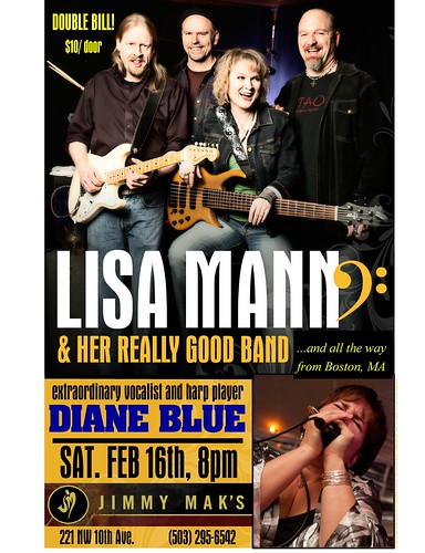 Lisa Mann & Her Really Good Band @ Jimmy Maks