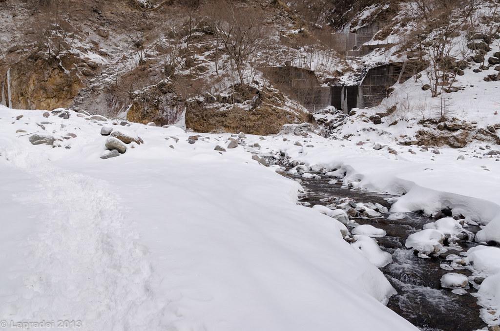 20130126 雲竜渓谷への沢コース