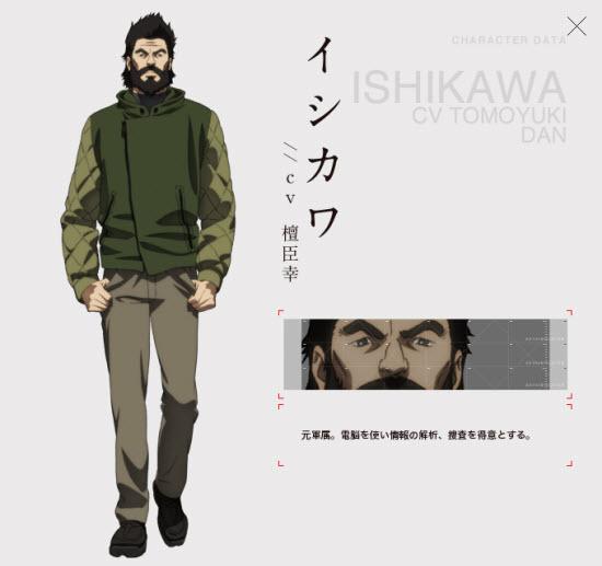 Ishikawa(イシカワ)CV Tomoyuki Dan(檀臣幸)