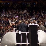John Harbaugh And Lombardi Trophy Following Super Bowl XLVII