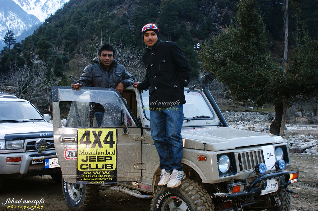 Muzaffarabad Jeep Club Neelum Snow Cross - 8469408760 3d74797e89 b
