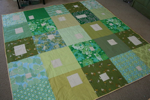 Modified Bunch of Squares in Green