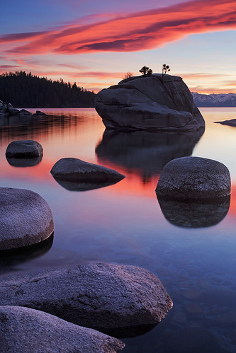 california ca pink blue trees winter light sunset red sky orange cloud sun mountain lake black mountains cold reflection tree nature water beauty yellow rock clouds forest landscape high cool scenery rocks warm december natural bright south nevada tahoe wave joe sierra east clear nv national shore bonsai elevation range lenticular stratocumulus ganster lenticularis