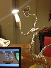 Irgendwie so. In die Richtung. Könnte das was werden. Mit der Discord Lampe. #mlpfim #discordlamp