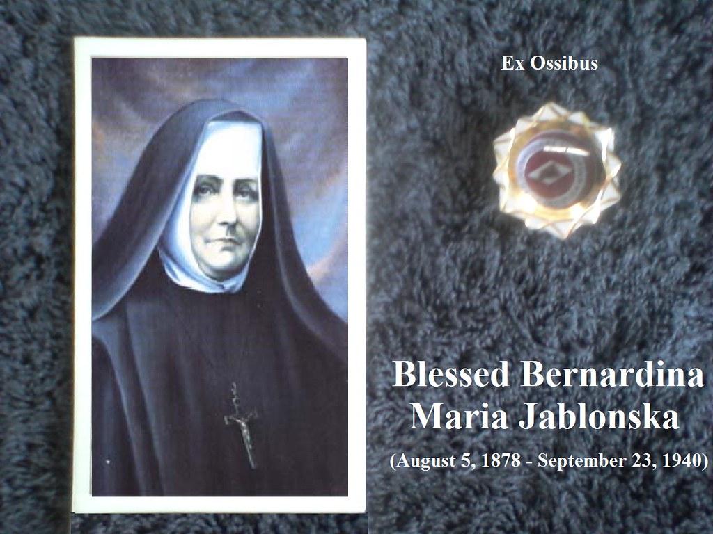 Resultado de imagem para Beata Bernardina Jablonska,