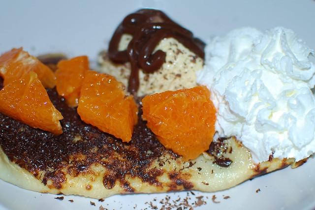 Clementine Chocolate Pancake