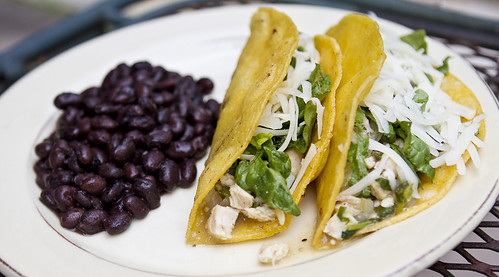 cilantro chicken tacos