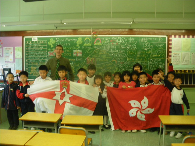 ESL students in Hong Kong