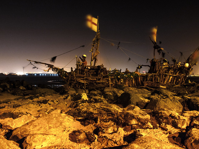 Driftwood Pirate Ship-3