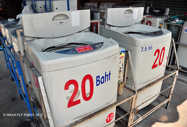 Roadside Laundromat, Chiang Mai, Thailand