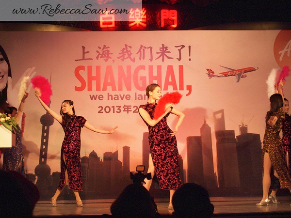 Air asia x - shanghai inaugural flight - shanghai