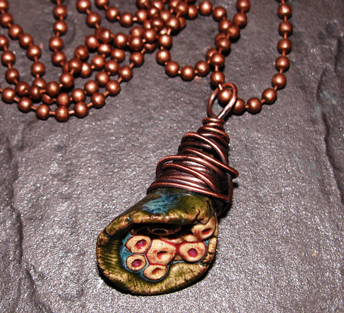 Ceramic Pod Necklace