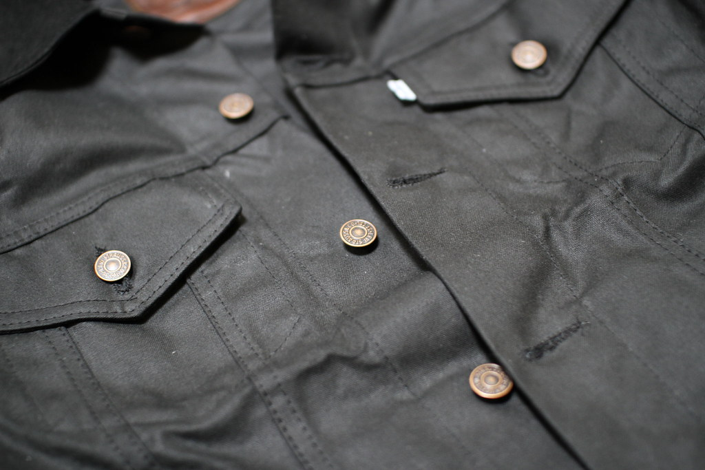 FILSON X Levi's Waxed Trucker Jacket