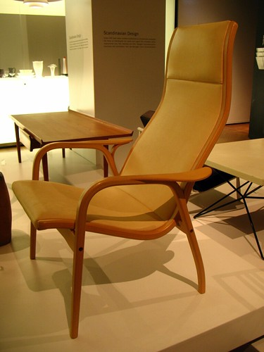 Chair, 'Lamino', design by Yngve Ekström, Swedese Möbler 1955