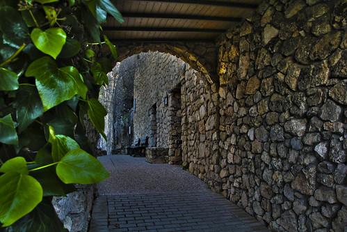 Bajo la cueva de la Ventana