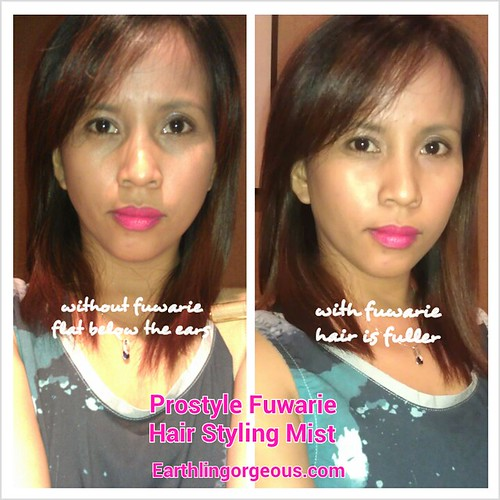 with Prostyle Fuwarie Hair Styling Mist