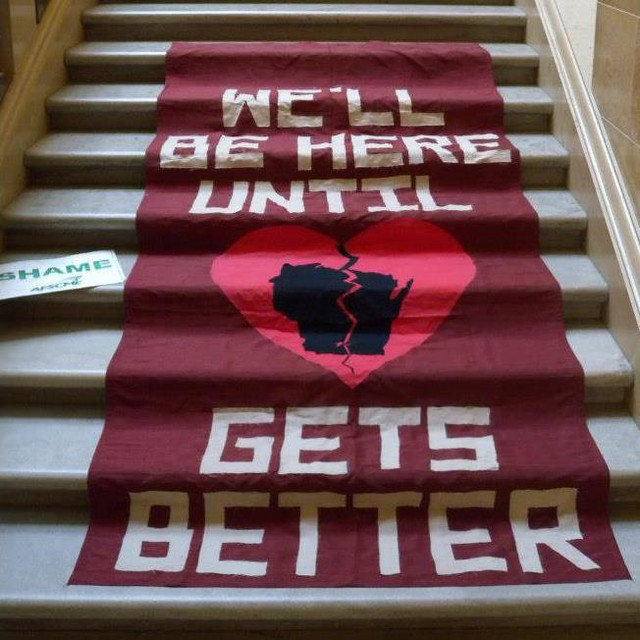 'Til Wisconsin Gets Better Stairs