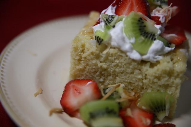 Pastel de Tres Leches de Coco (Coconut Tres Leches Cake ...